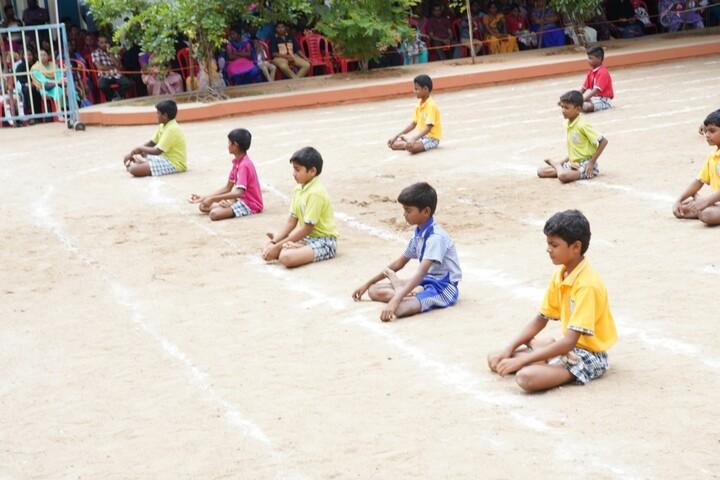 Little Flower Matriculation School-Yoga