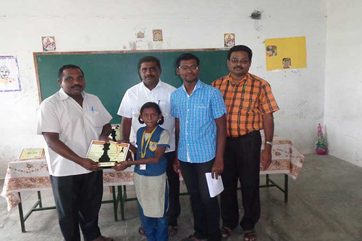 Paavendhar Matric Higher Secondary School-Chess Competition Winner
