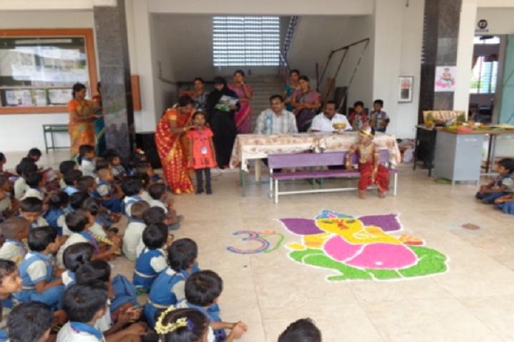 Paavendhar Matric Higher Secondary School-Childrens Day Celebration
