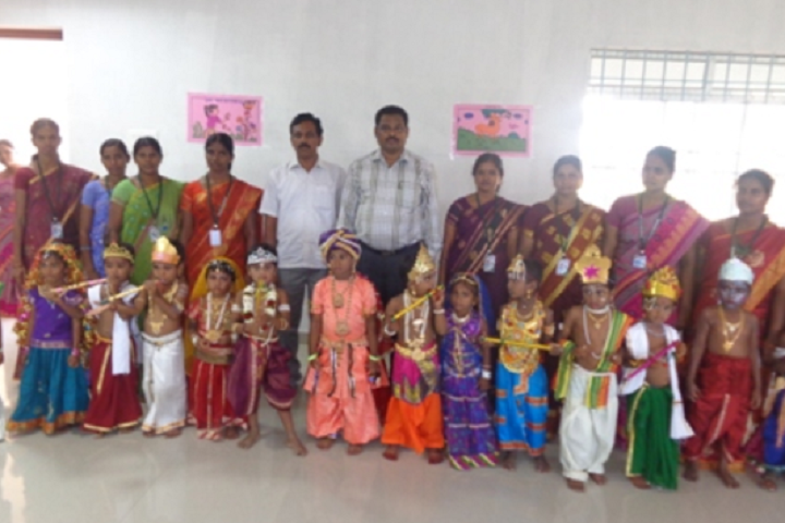 Paavendhar Matric Higher Secondary School-Fancy Dress Competition