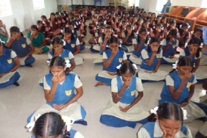 Paavendhar Matric Higher Secondary School-Yoga