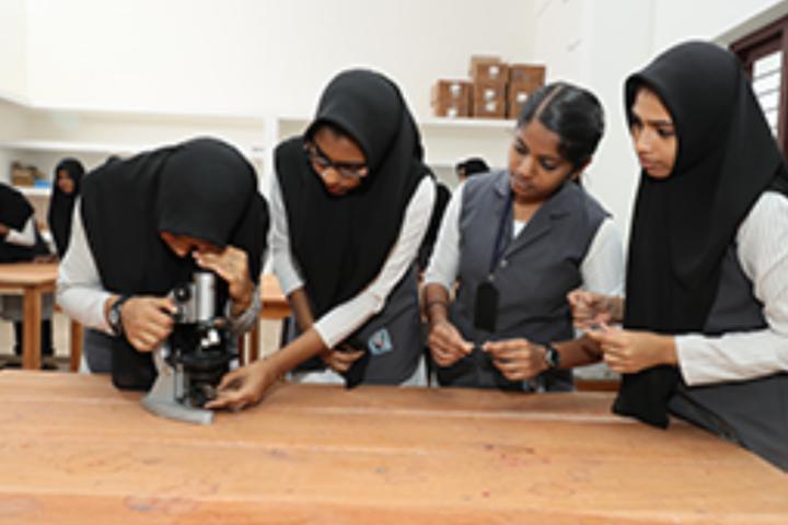 PTM Higher Secondary School-Biology Lab