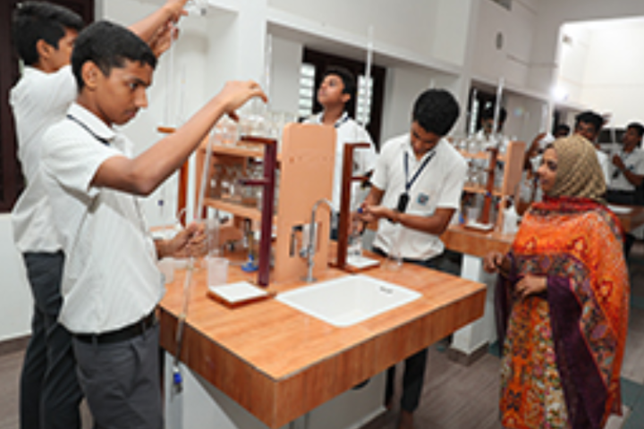 PTM Higher Secondary School-Chemistry Lab