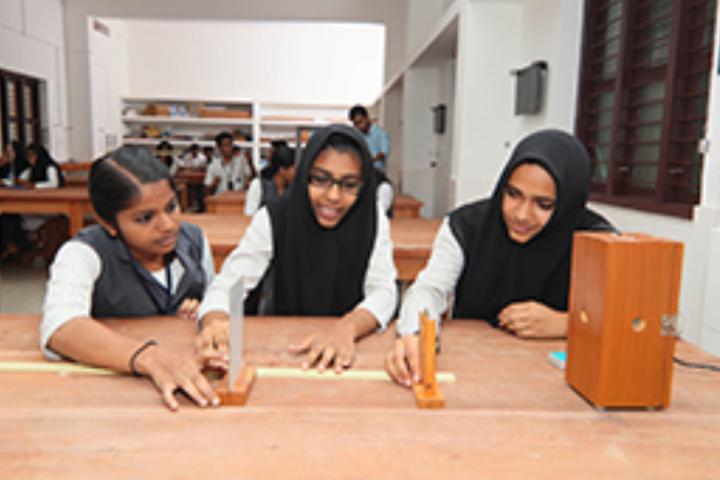 PTM Higher Secondary School-Physics Lab