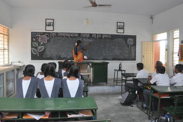 Sree Dharmasastha Matriculation Higher Secondary School-Biology Lab