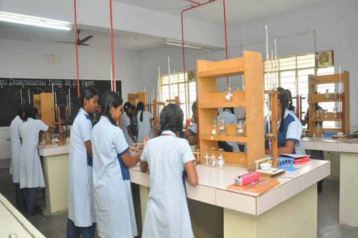 Sree Dharmasastha Matriculation Higher Secondary School-Chemistry Lab
