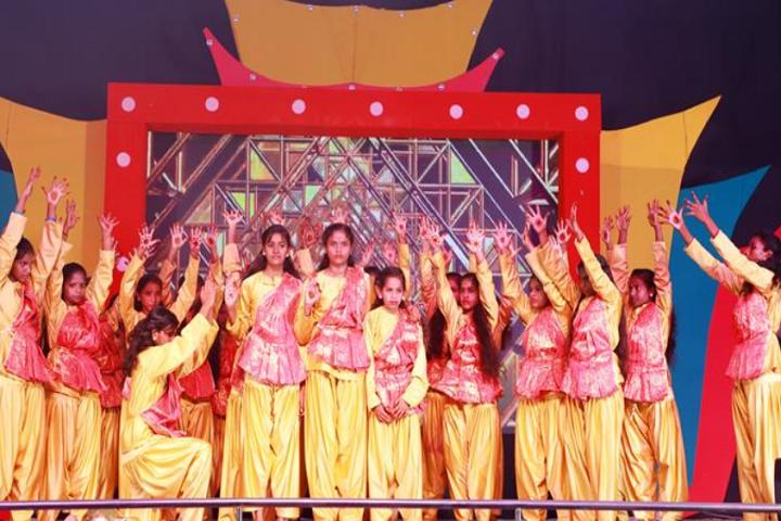 Sree Dharmasastha Matriculation Higher Secondary School-Group Dance