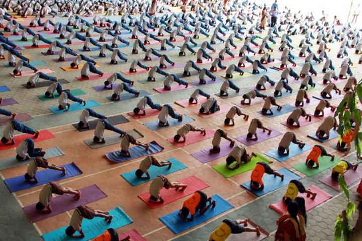 Sree Dharmasastha Matriculation Higher Secondary School-Yoga