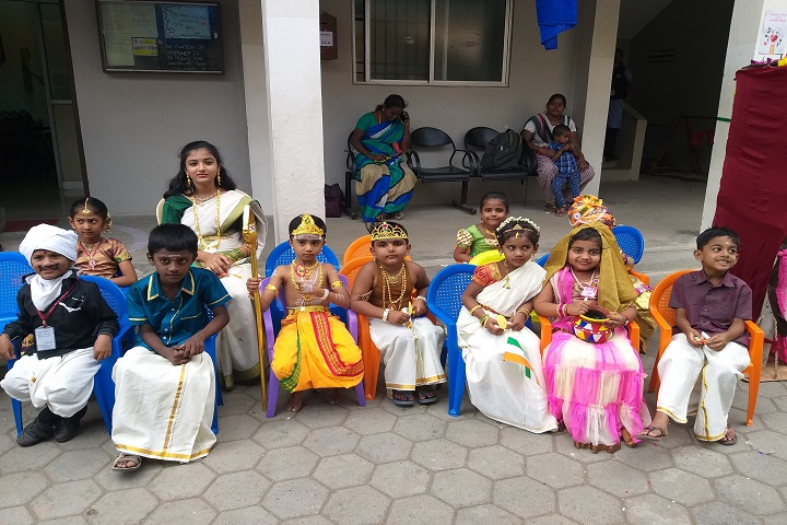 RVS Matriculation Higher Secondary School-Fancy Dress Competition