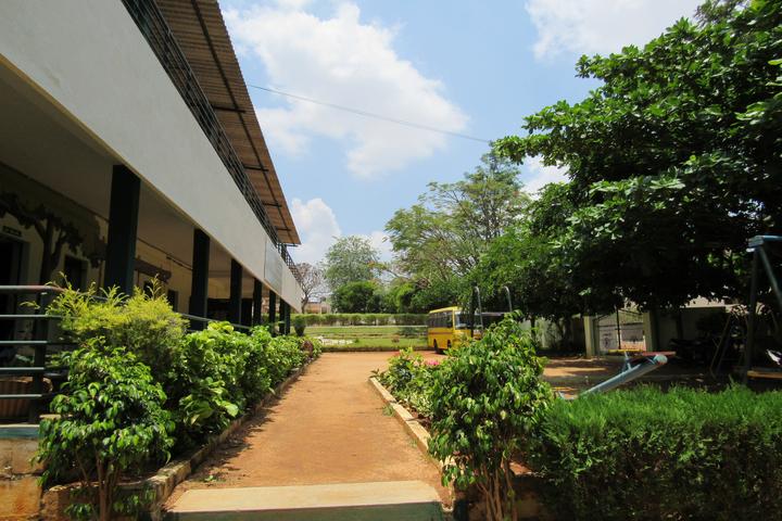 Sri Paramahamsa Vidyaniketana school-School Area