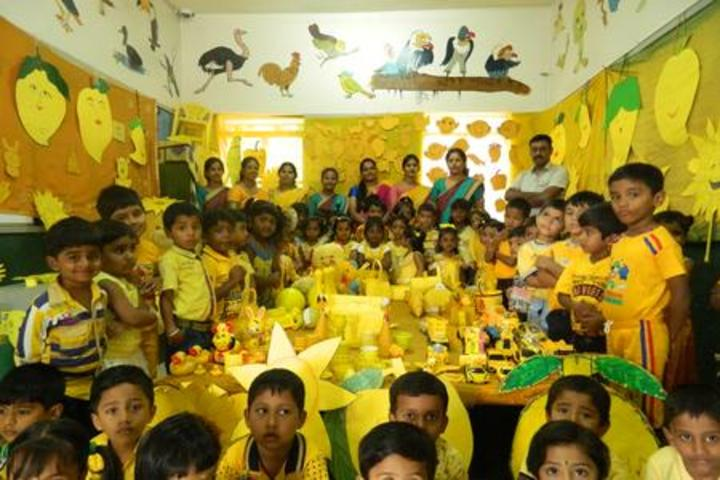 Sri Paramahamsa Vidyaniketana school-Yellow Day