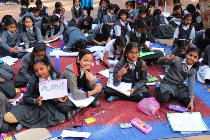 Renu Vidya Peeth Higher Secondary School-Drawing