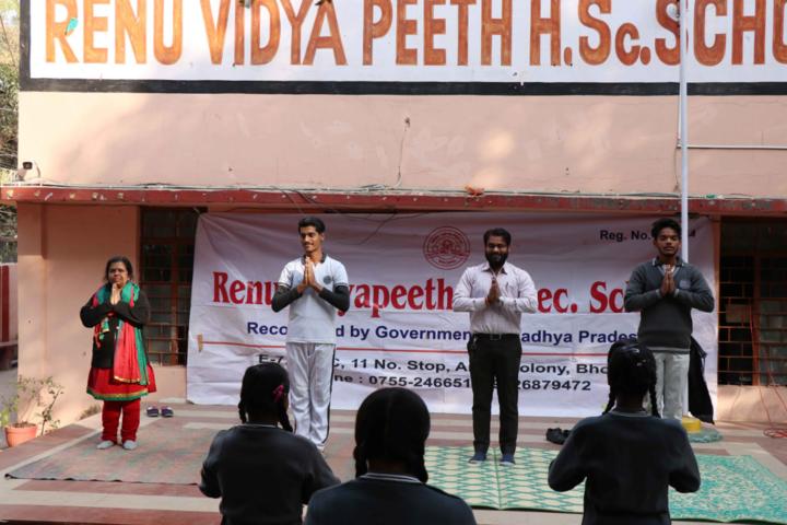 Renu Vidya Peeth Higher Secondary School-Prayer