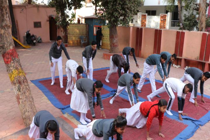Renu Vidya Peeth Higher Secondary School-Yoga