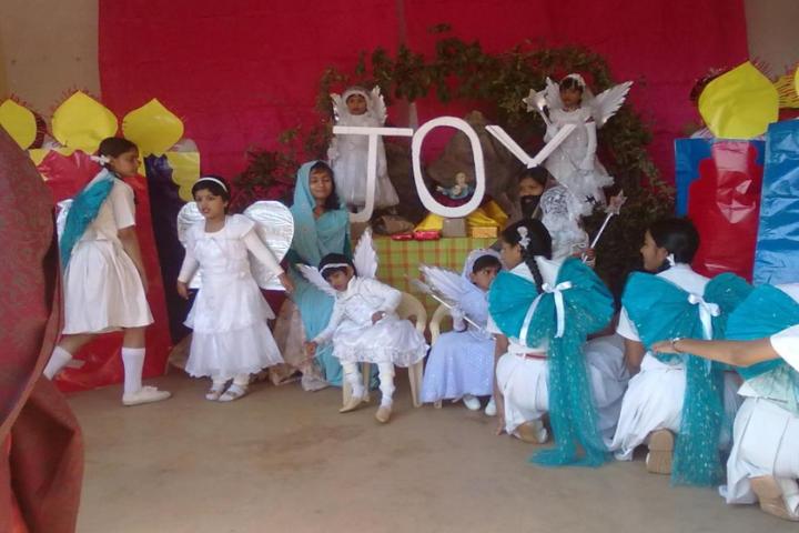 Jyoti Higher Secondary-Christmas day celebrations