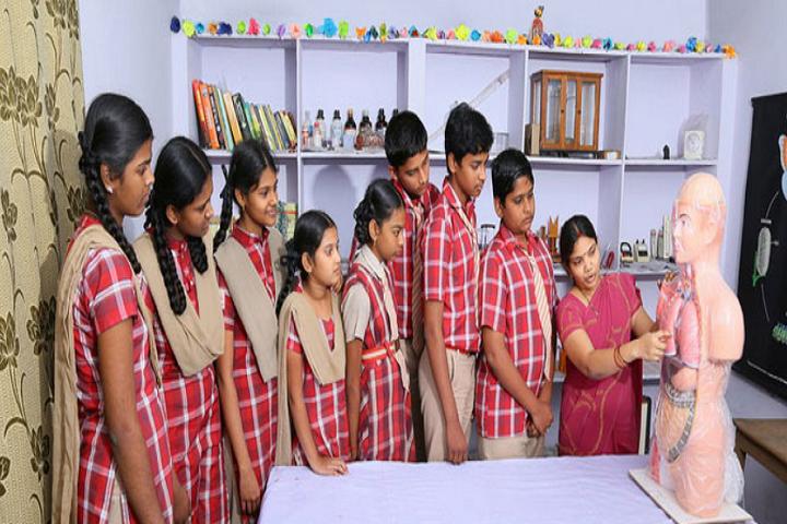 Swarna Bharathi High School-Biology Lab