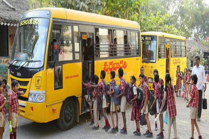 Swarna Bharathi High School-Bus