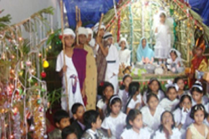 Swarna Bharathi High School-Christmas Celebration