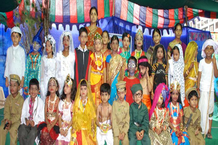 Swarna Bharathi High School-Fancy Dress Competition