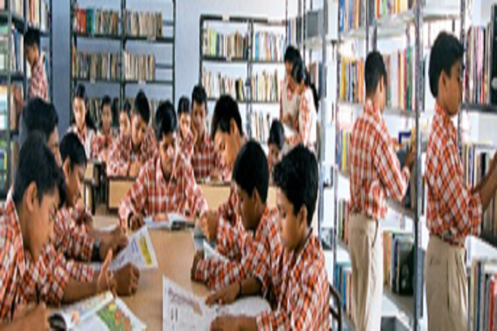 Swarna Bharathi High School-Library