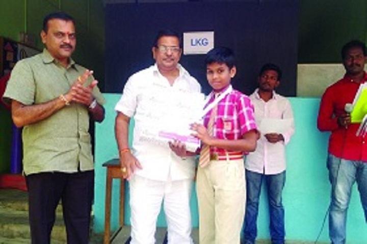 Swarna Bharathi High School-Prize