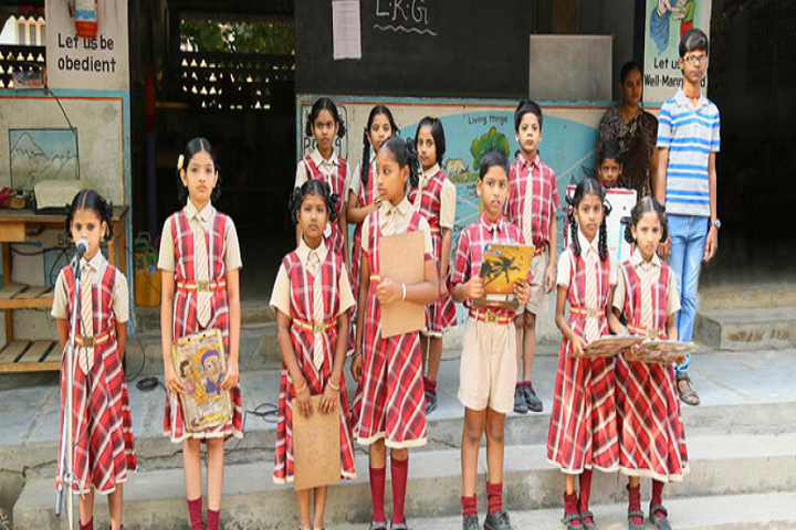 Swarna Bharathi High School-Story Telling Competition