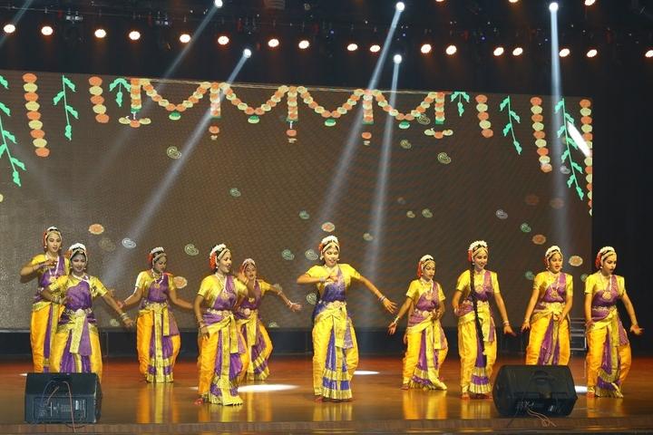 Janapriya School-Cultural Dance