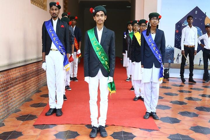 Janapriya School-Investiture Ceremony