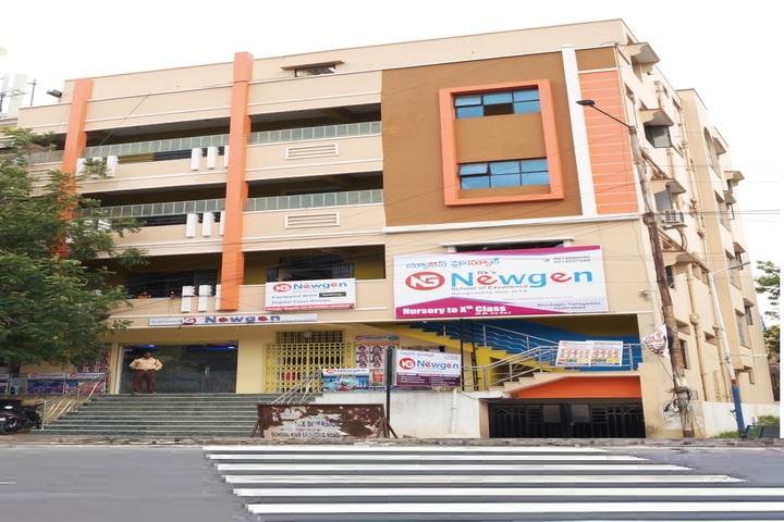 Newgen High School-School Building