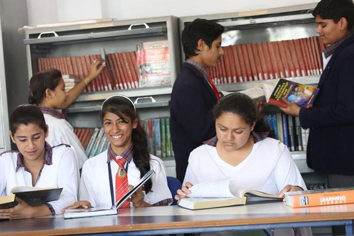 Tiny Tots Higher Secondary School-Library