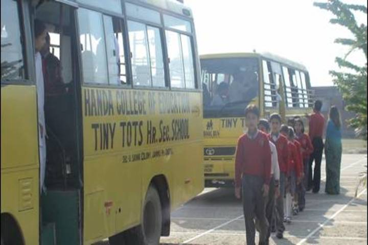 Tiny Tots Higher Secondary School-Transport