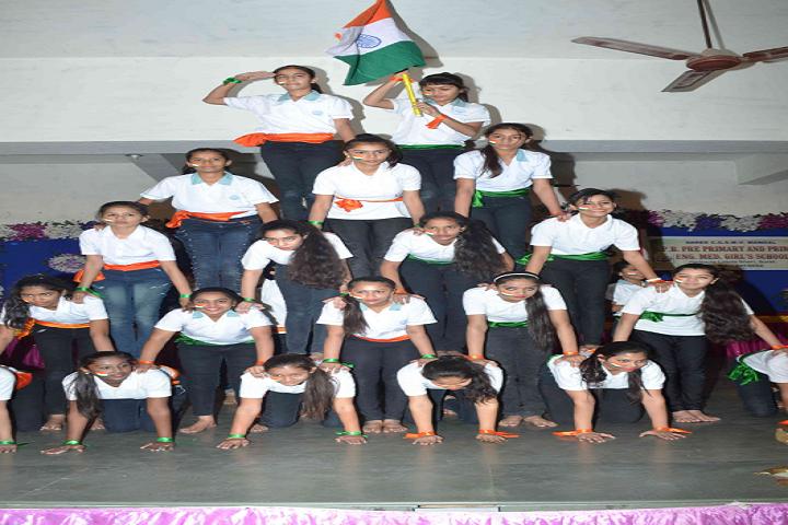 CGSMVM Ambaba Haripara Girls English School-Independence Day Celebration