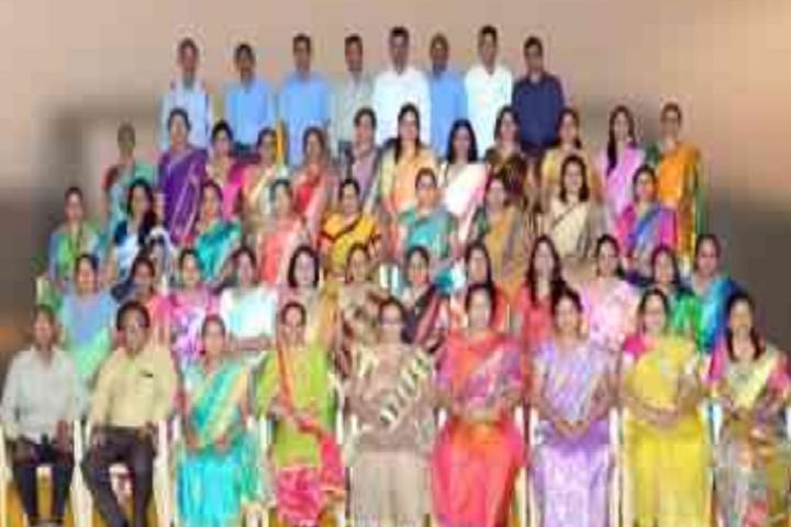 CGSMVM Ambaba Haripara Girls English School-Staff Group Photo
