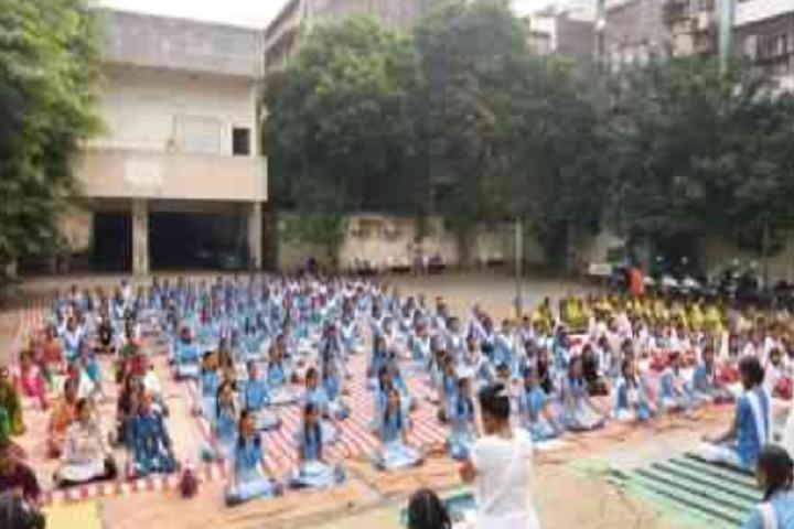 CGSMVM Ambaba Haripara Girls English School-Yoga