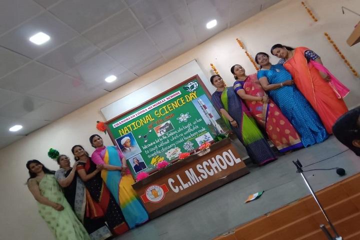 Chandresh Lodha Memorial School-Staff Group Photo