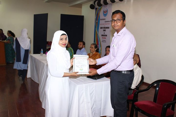Crescent English High School and Junior College of Arts Science and Commerce-Prize Distribution