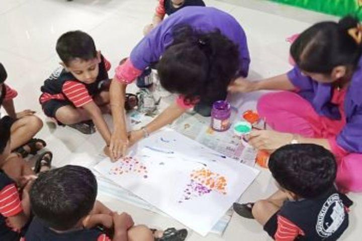 Gurukul International School-Drawing Activity