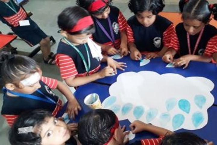 Gurukul International School-Painting Activity