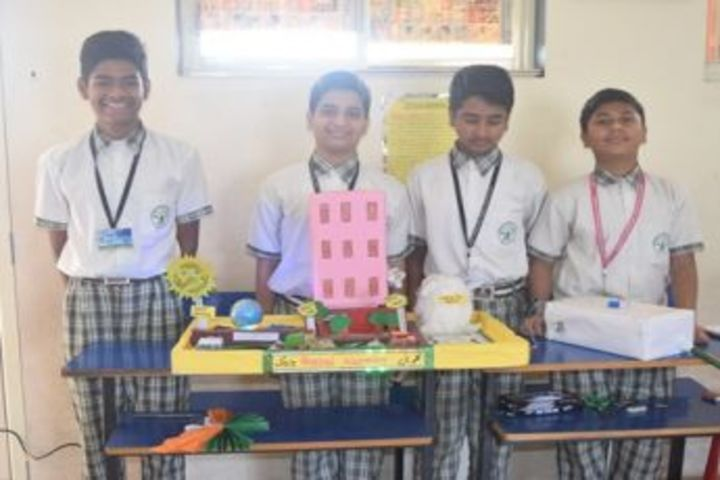 Gurukul International School-Science Exhibition