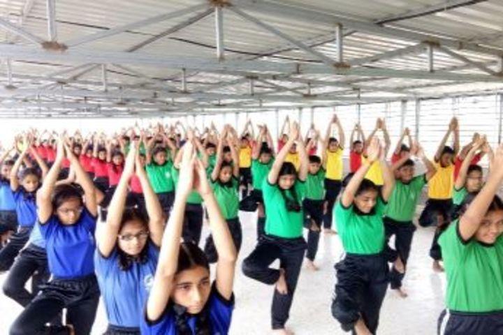 Gurukul International School-Yoga Day