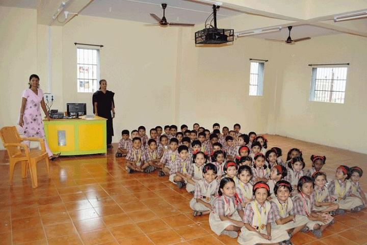 Holy Cross English School-AV Room
