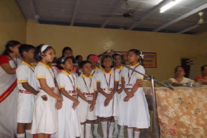 Saraswati Vidya Mandir-Group Singing