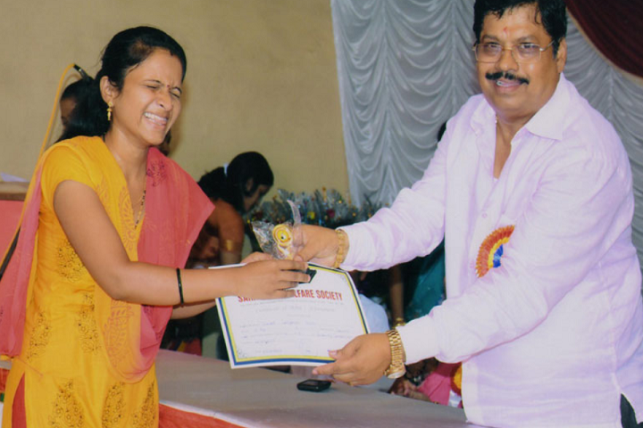 Saraswati Vidya Mandir-Prize