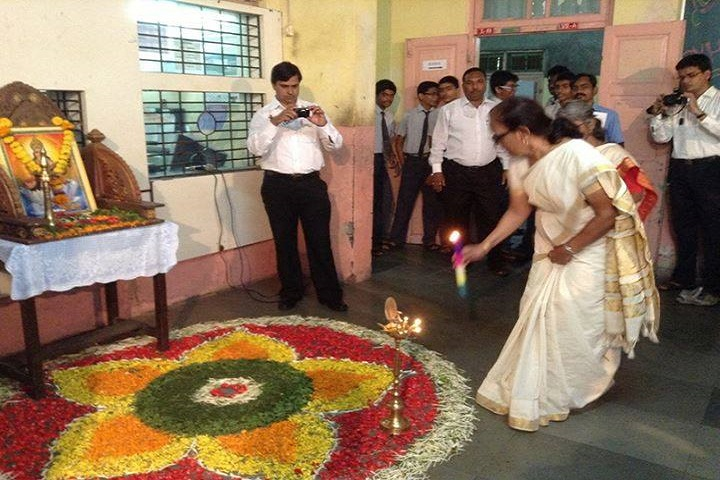 Sri Vani Vidyashala High School-Lighting The Lamp
