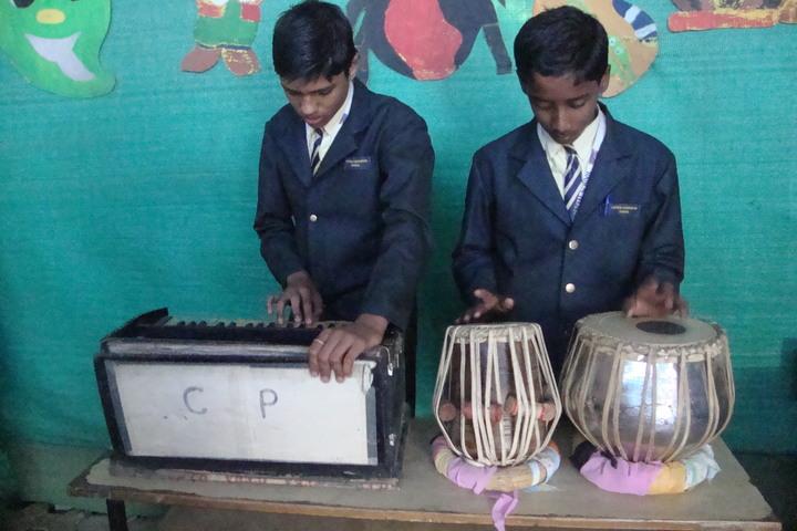 Central Provincial School-Music Class