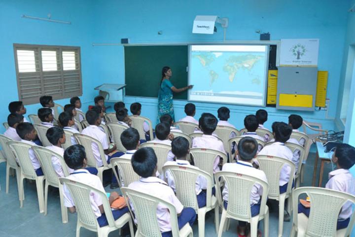 Amudham Matriculation Higher Secondary School-Digital Classroom