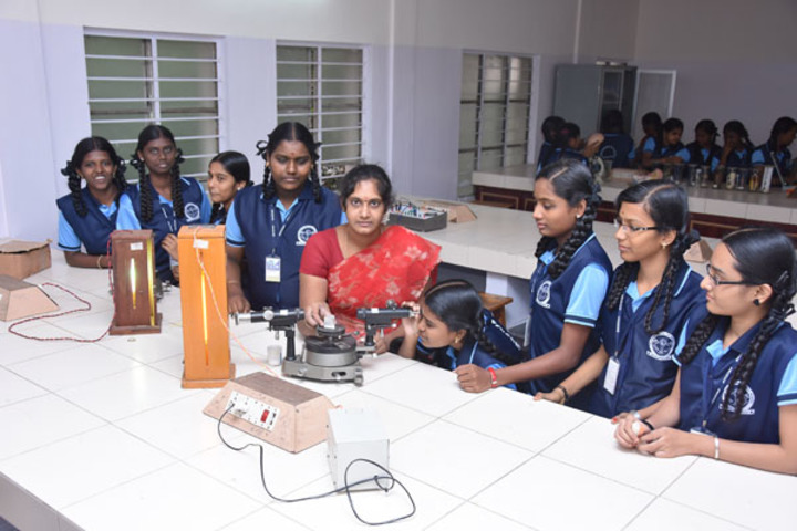 Amudham Matriculation Higher Secondary School-Physics Lab