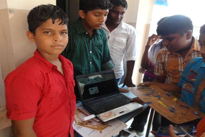 Amudham Matriculation Higher Secondary School-Science Exhibition