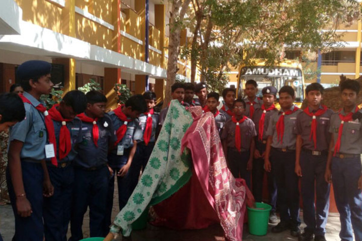 Amudham Matriculation Higher Secondary School-Scouts and Guide