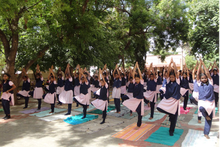 Amudham Matriculation Higher Secondary School-Yoga